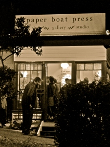 Paper Boat Press; under the winter sky