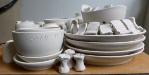 Servant Ceramics, bisque, bisque firing