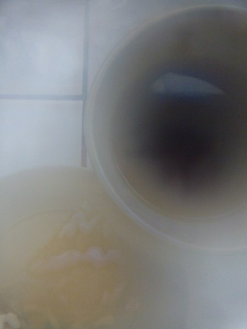 """Natural """"photoshop"""" effect - steam from the tea"""
