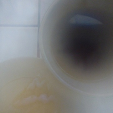 "Natural ""photoshop"" effect - steam from the tea"