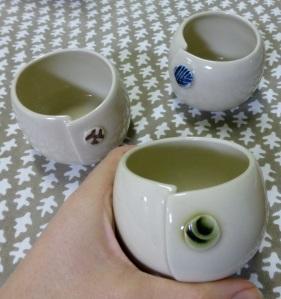 Servant ceramics, altered beakers