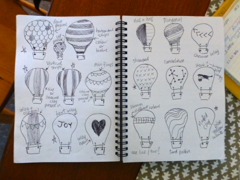 S||C Process_a_Baby Shower Balloons_sketches
