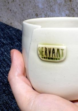 Servant Ceramics Commemorative Beaker_a