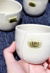 Servant Ceramics Commemorative Beakes group