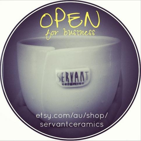 Servant Ceramics is open for business