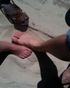 Glorious sand!