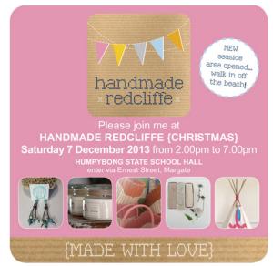Handmade Redcliffe_Dec 2013 market