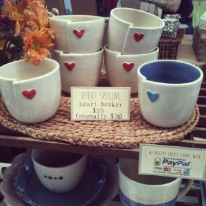 Servant Ceramics_heart beakers_mug_cup