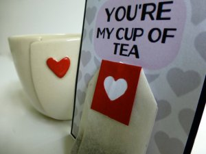 Servant Ceramics_heart cup and tea combo