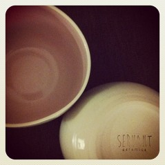 """Can't wait for my morning coffee..these are amazing, shaped to fit snugly in your hands @servantceramics #brisstyle #lovehandmade"