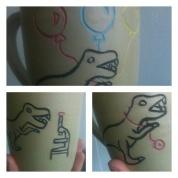 New dinosaur mugs
