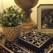 Custom Planter with Gold Lustre - Photo by NK