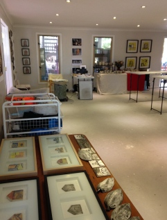 Studio interior shot