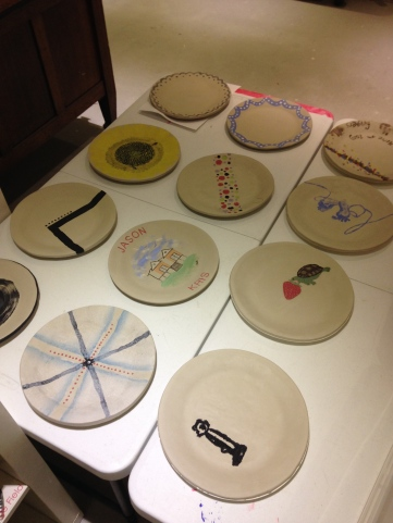 A selection of completed plates...